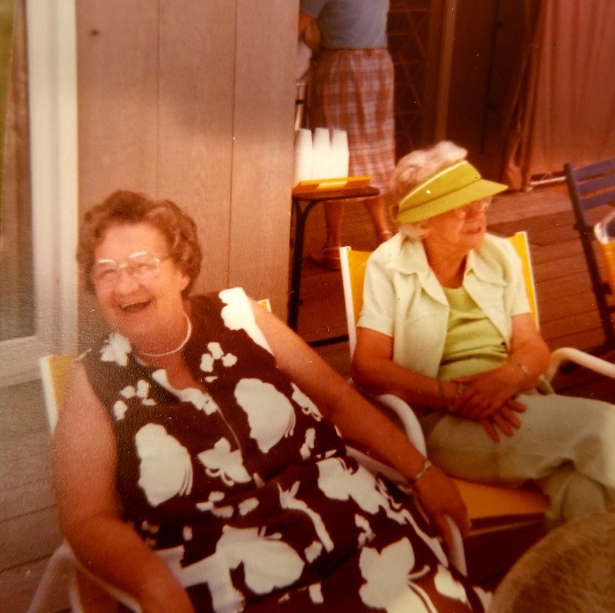 Ruth Casse & Martha Martin