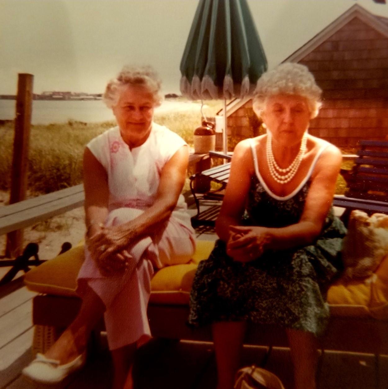Edna Hawthorne & Mary Kennedy