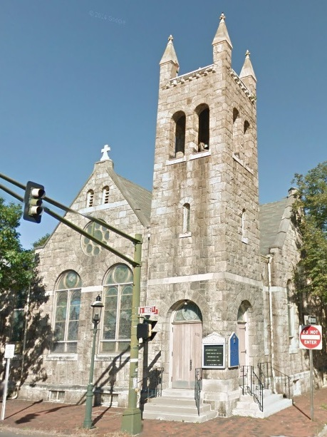 Second Presbyterian Church of Trenton, Market & Mercer Street, New Jersey