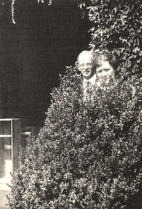 "Rev. Harkness and wife Anna, ""In the Bushes"", undated photo courtesy of"
