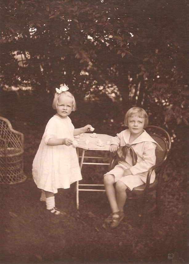 Evelyn and Lawrence Harkness, both born and grew up in East Hampton, NY