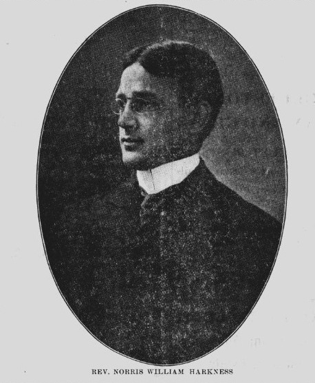 Rev. Norris Williams Harkness 1909