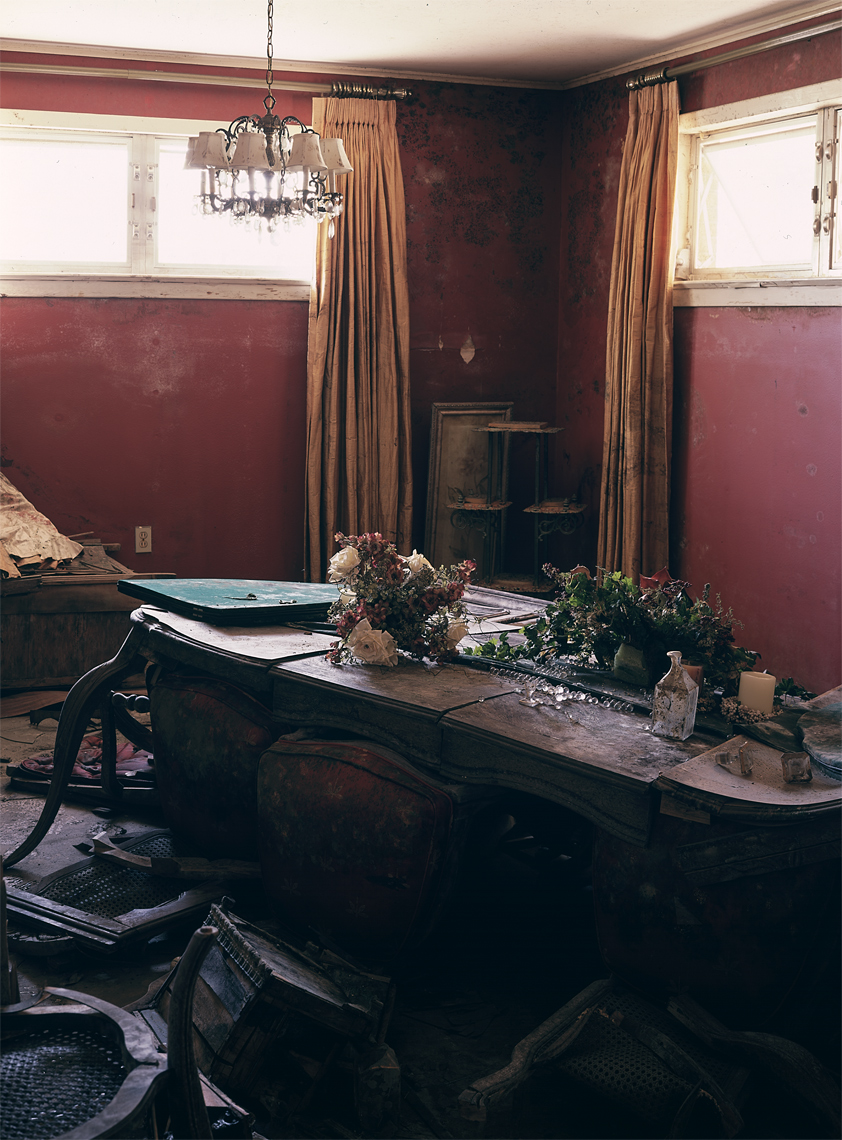 My Grandmother's Dining Room ( Or Where We Ate Thanksgiving), September 2005