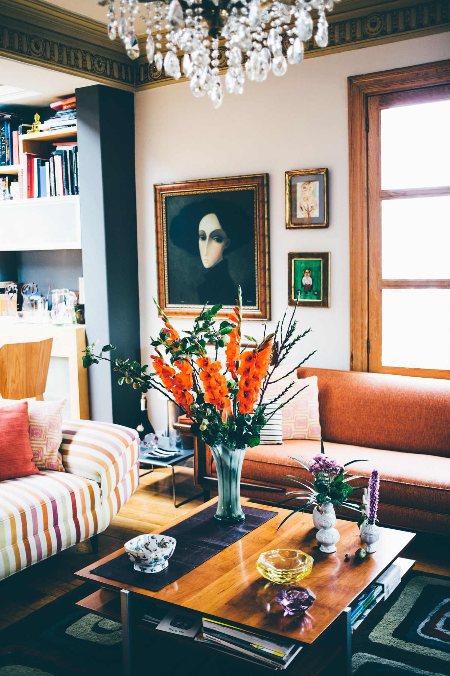Copy of Living room interior design at Casa Jacaranda