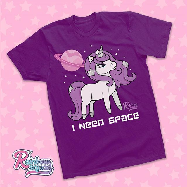 Exciting news our shop for Rainbow Go Squad apparel has officially launched! Be a part of the squad by repping your favorite unicorns. Link to our shop is in the bio . 🦄👚💜✨ #rainbowgosquad