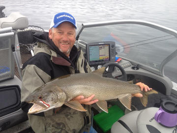 Bernie Keefe - Bernie has been operating Broken Antler Outfitters / Fishing with Bernie on Lake Granby and Grand Lake in northern Colorado for over 25 years. Although he primarily guides his clients in search of trophy lake trout, Bernie is equally adept at catching walleyes, among other species.