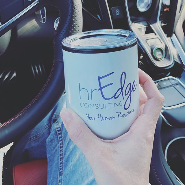 Enjoying my tea to-go thanks to @_hredge! Swag is such a great way to show off your brand and give your prospects and customers a thoughtful gift.  #swag #marketing #brand #giveaway #clientappreciation #customerappreciation #goodies