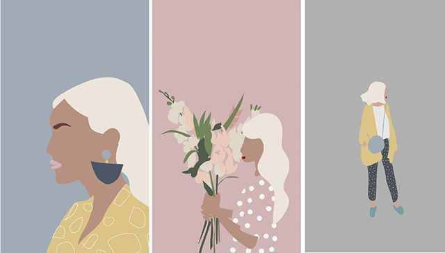 Illustrations... Brought to Everyday Life! Meet@stephs.a.designer, great designer, and#illustratorwho recently started#sellingher cool designs of women on the go. Check out the link in our bio to see her profile in our Artist Corner to learn more.