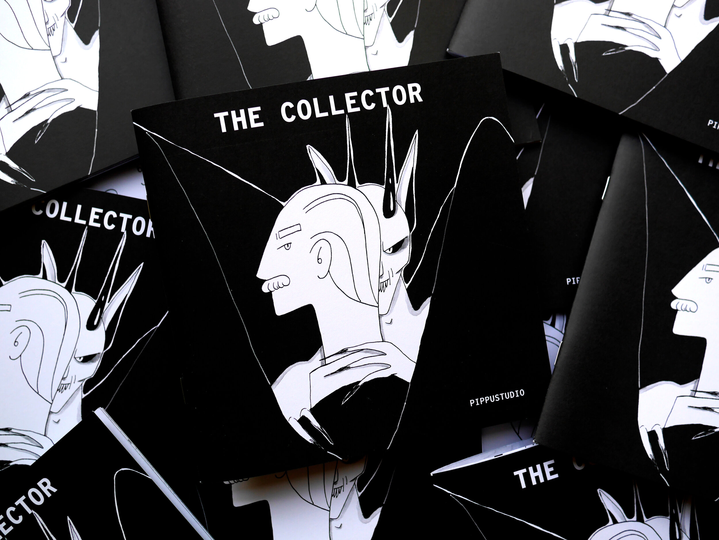 The collector book sample pages