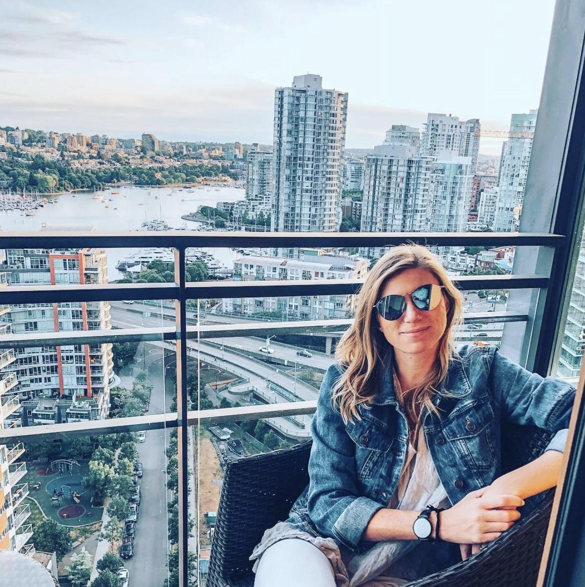 Liz Mercer in Vancouver