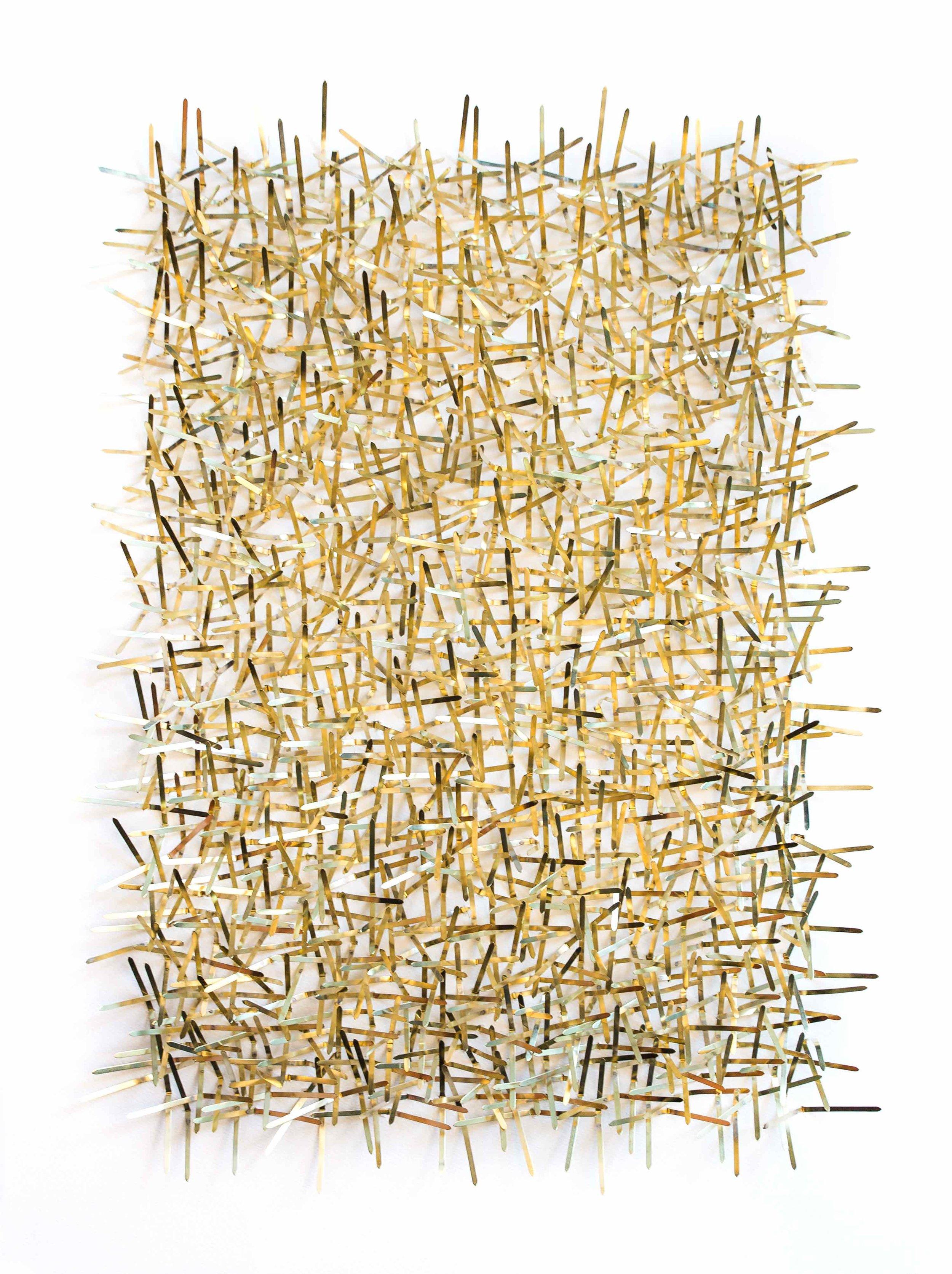 Spike - Papier & laiton56 x 76 cm2018Pièce unique