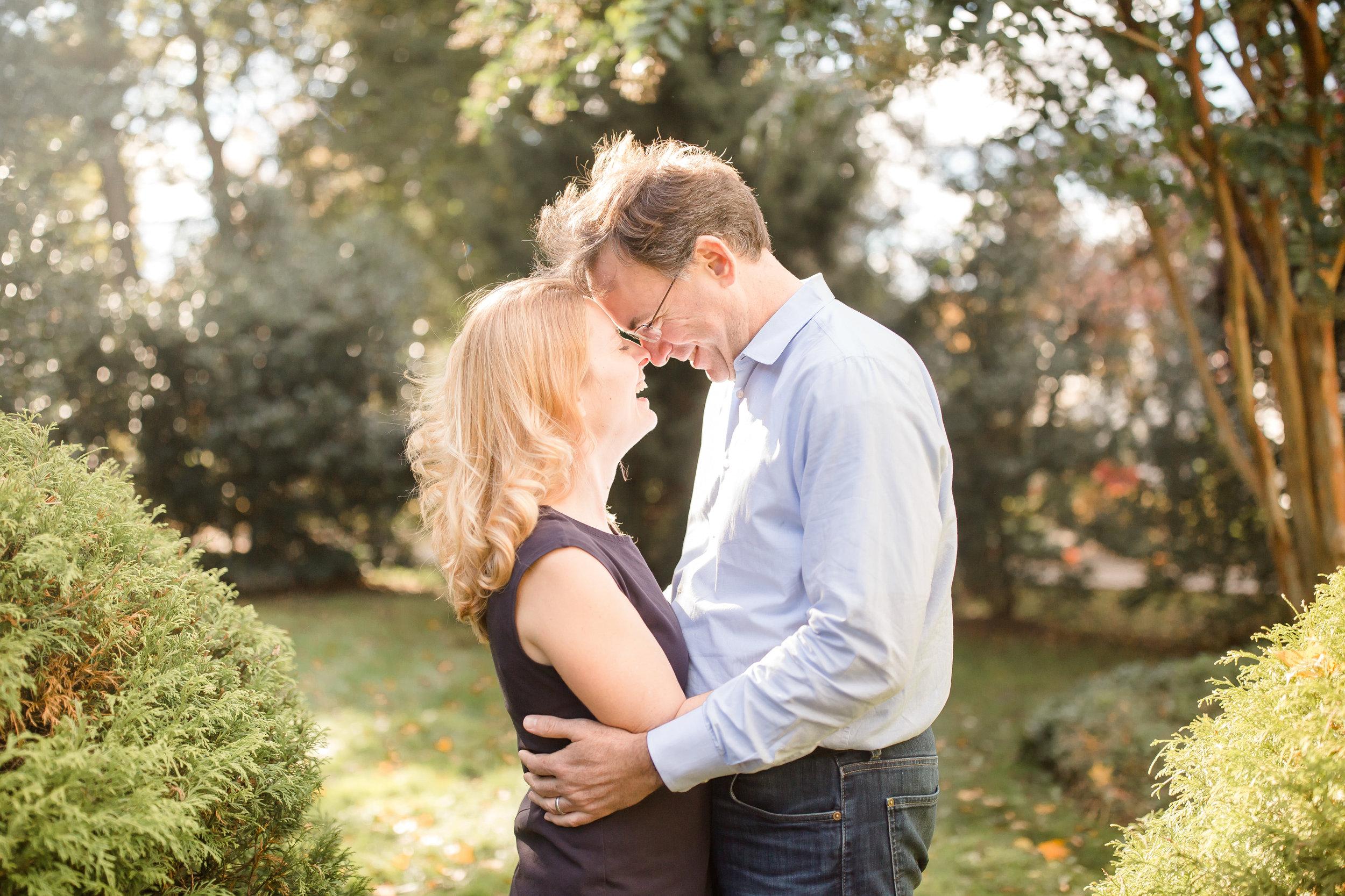 Author, Laura Vanderkam and her husband. Photo credit: Yana Shellman