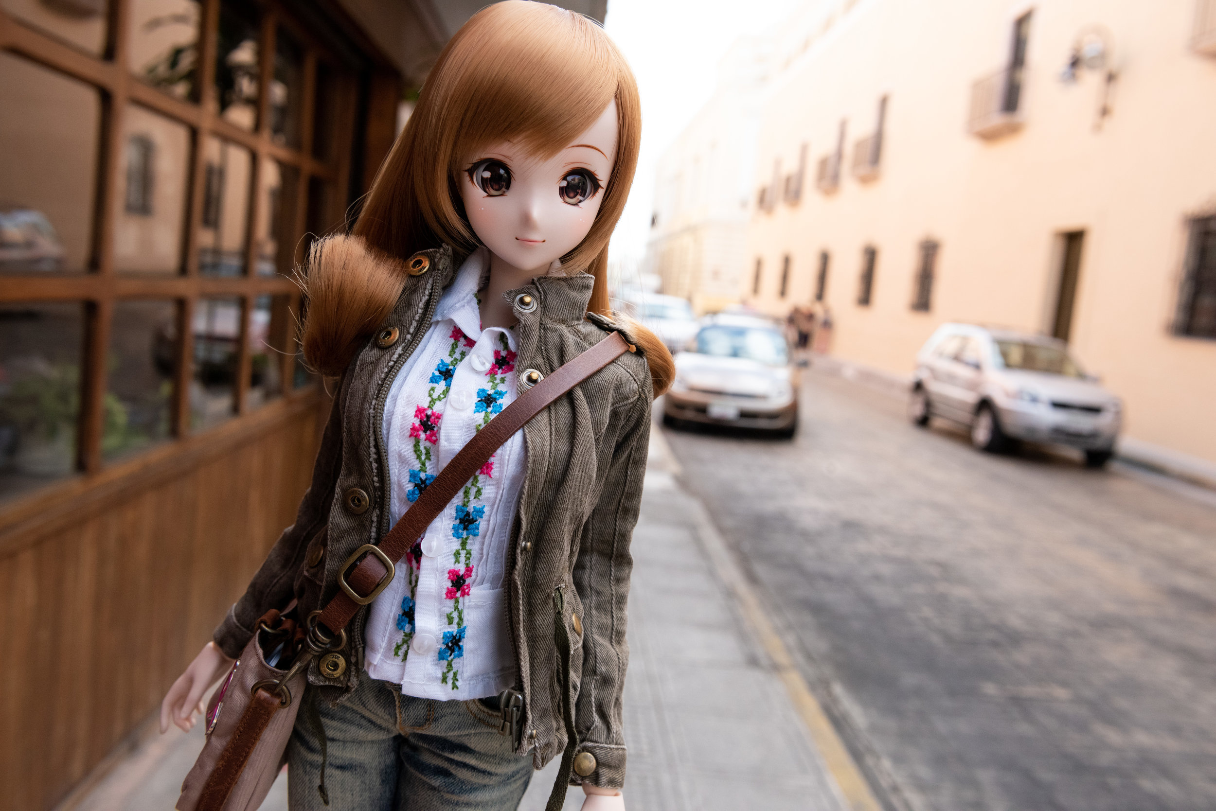 Some photos of Mirai out n about in Yucatan. ^^