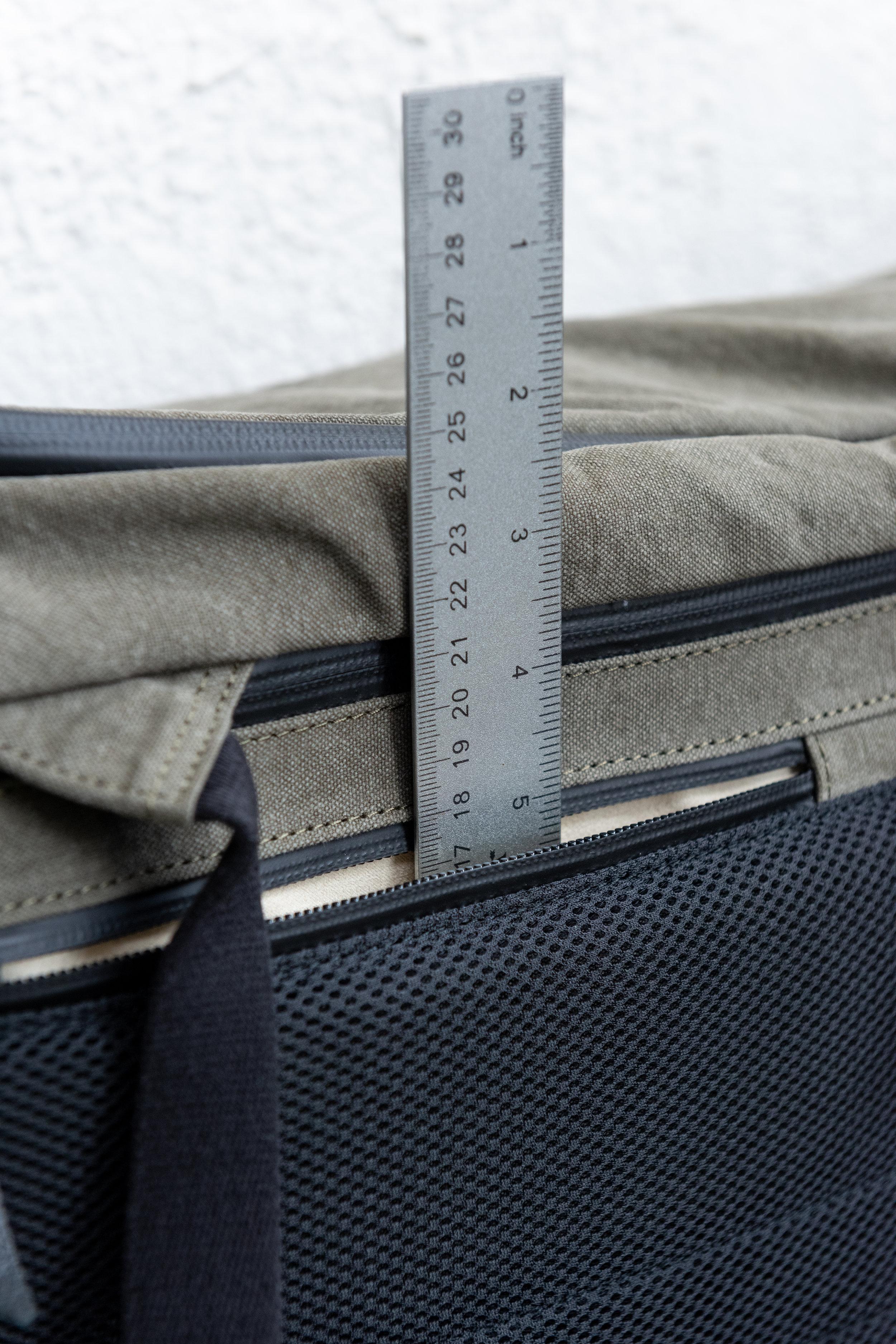 Lower back pocket