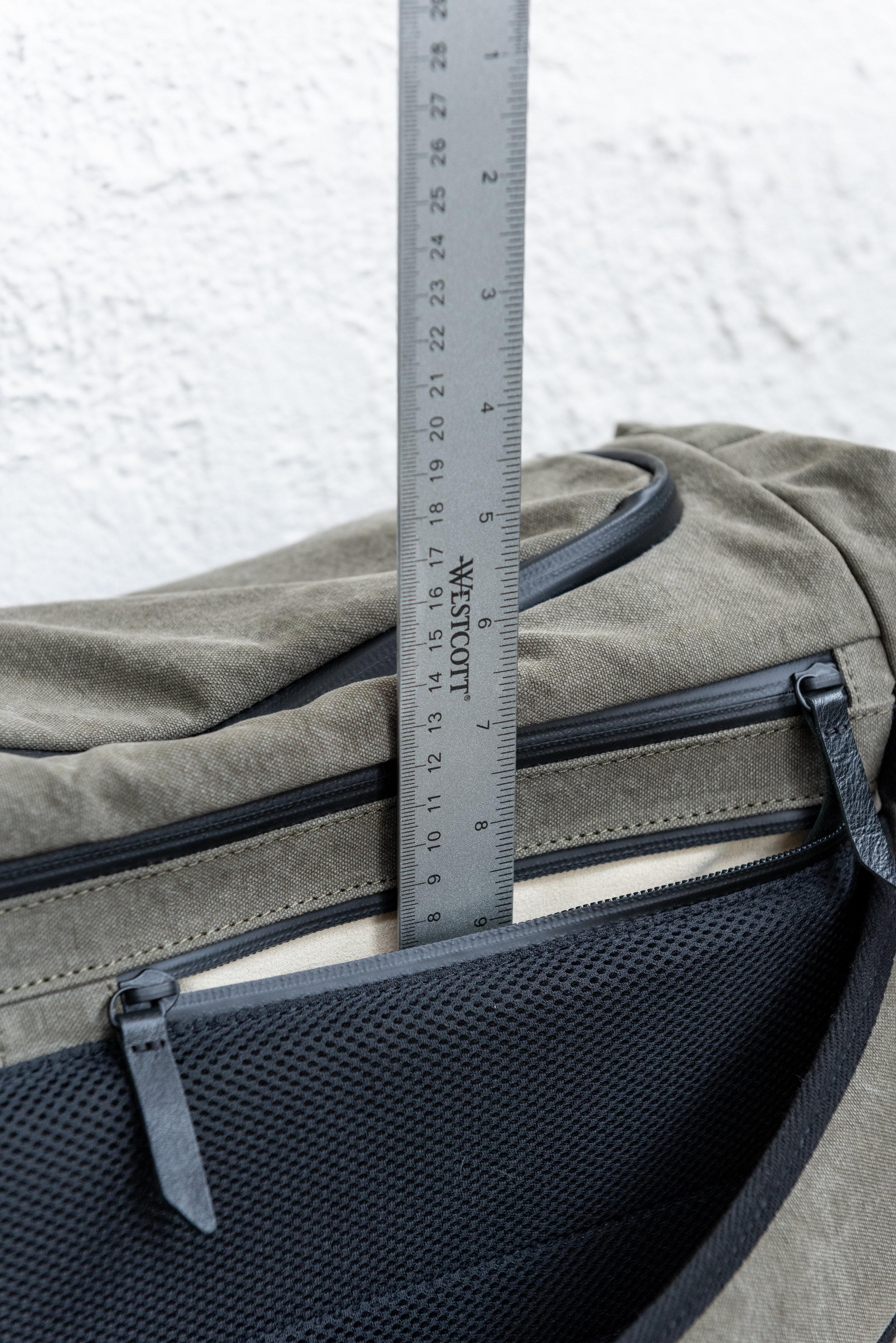 Upper back your right shoulder pocket