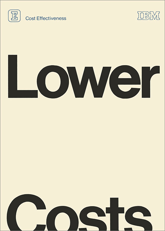Lower Costs, 1960-79