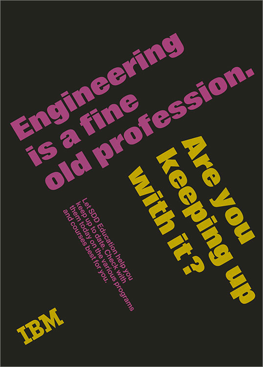 Engineering is a fine old profession, 1969–79