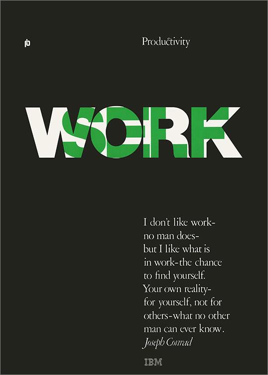 Productivity: Work/Self, 1969–79
