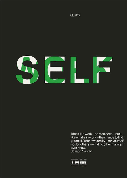 Quality: Self/Work, 1976