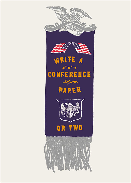 Write a Conference Paper or Two, 1969–79
