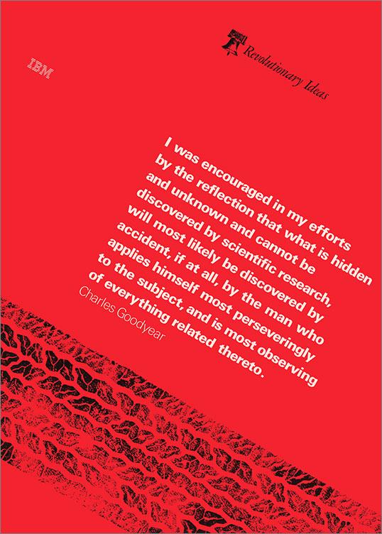 Revolutionary Ideas (Charles Goodyear), 1976