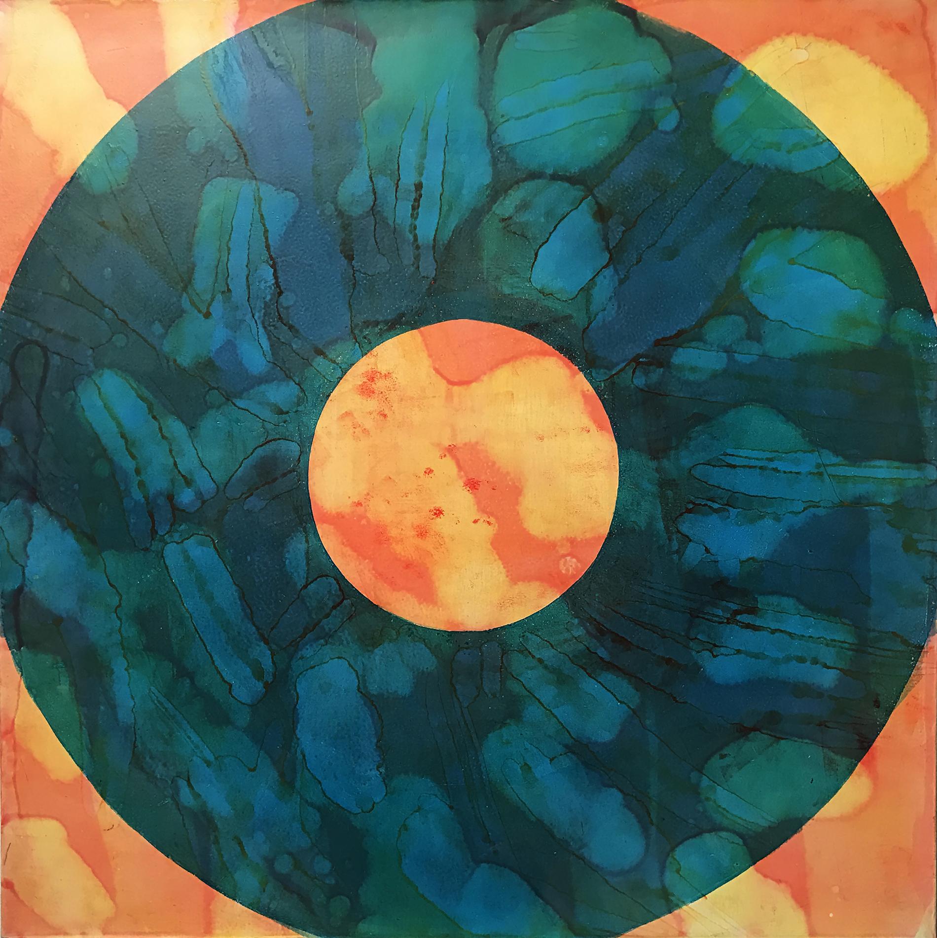 KODAK 2015 Oil on canvas 24 x 24 inches
