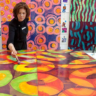 22 Questions with Abstract Painter of the Beautiful and The Deadly: Marylyn Dintenfass - Allison Meier | BLOUIN ArtInfo | 12/30/2013