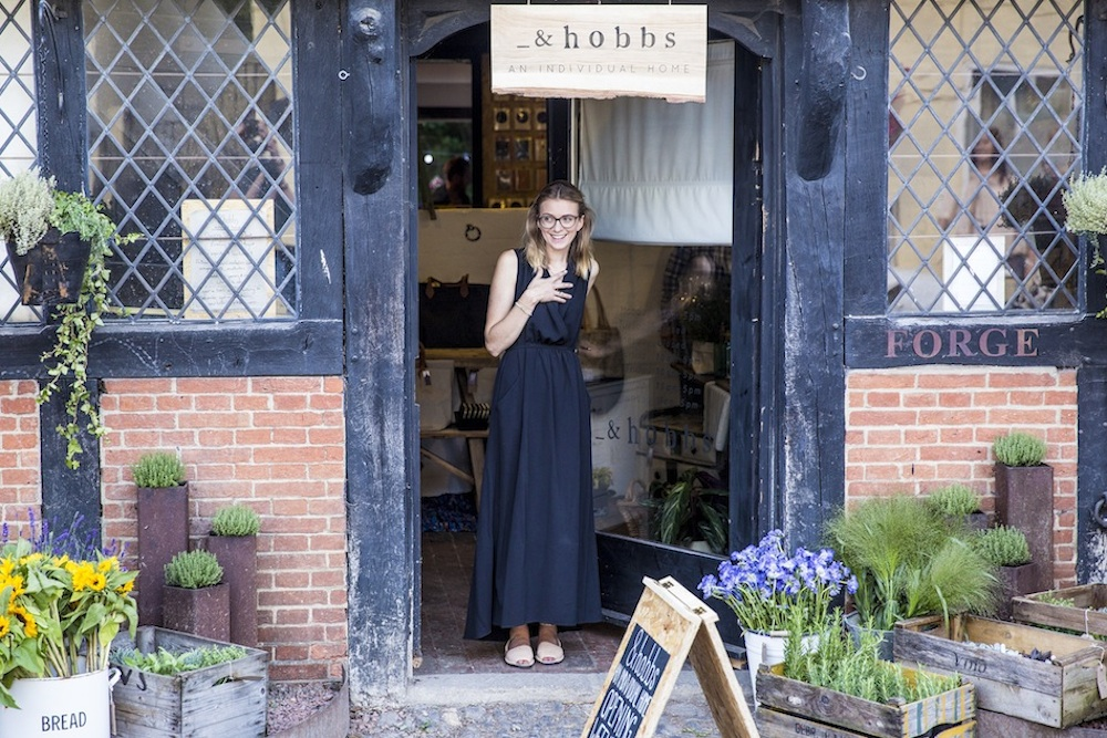 "&hobbs  -  You can now find my creations at &hobbs ""An individual home.""A beautiful shop nestled in the surrey hills. &hobbs The Forge, Middle Street.Shere. GU5 9HF."