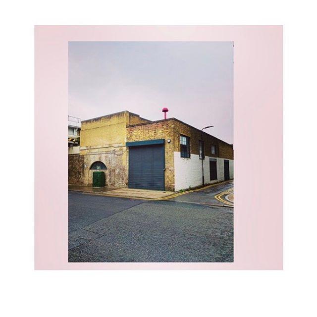 pink on pink . . . . . #london #haggerston #hackney #urban #streetscene #england #uk #streetart #travel #pink #travelpic #placesandprose #iphoneography #urbanvibes #mushroom #building