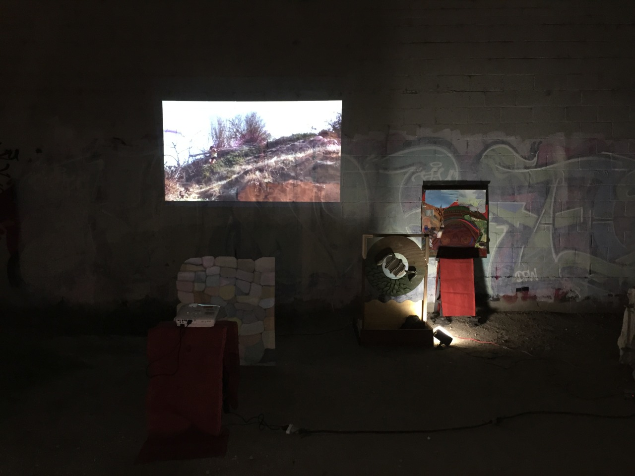 CAGHFft6SVSIP  Installation View 6th Street Bridge, Los Angeles, 2015