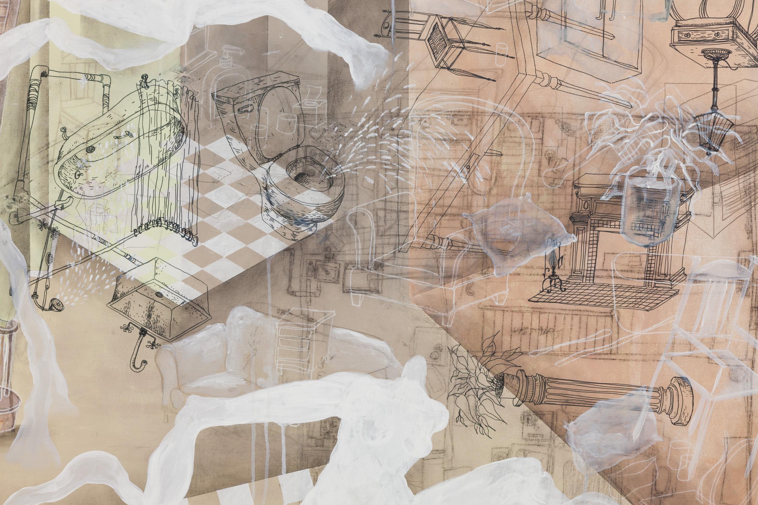 Sarah Wilson  Floorplan , 2017 (detail)