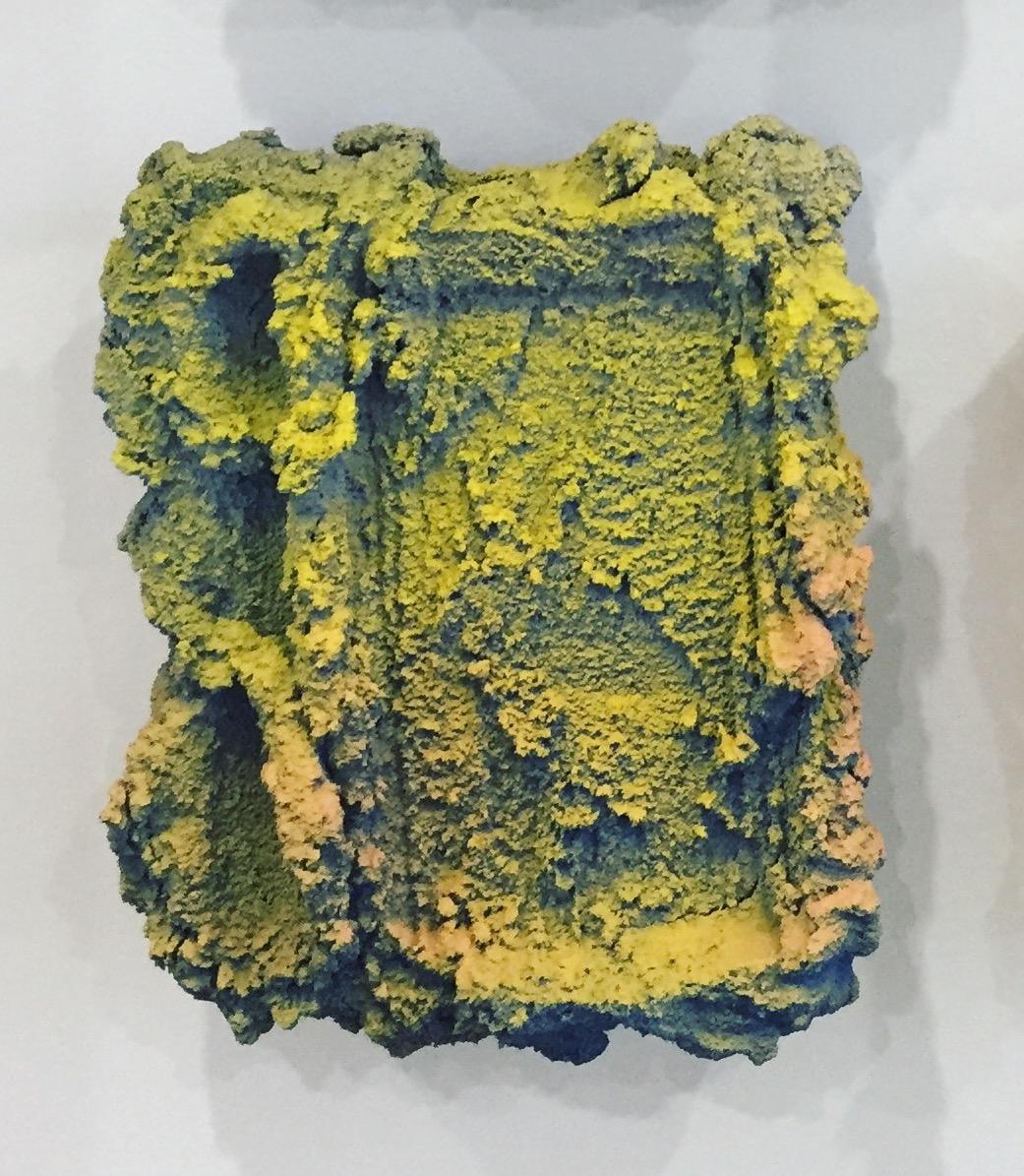 Brian Rochefort  Tablet 238 , 2017 ceramic, glaze 9 x 7 x 3 in.