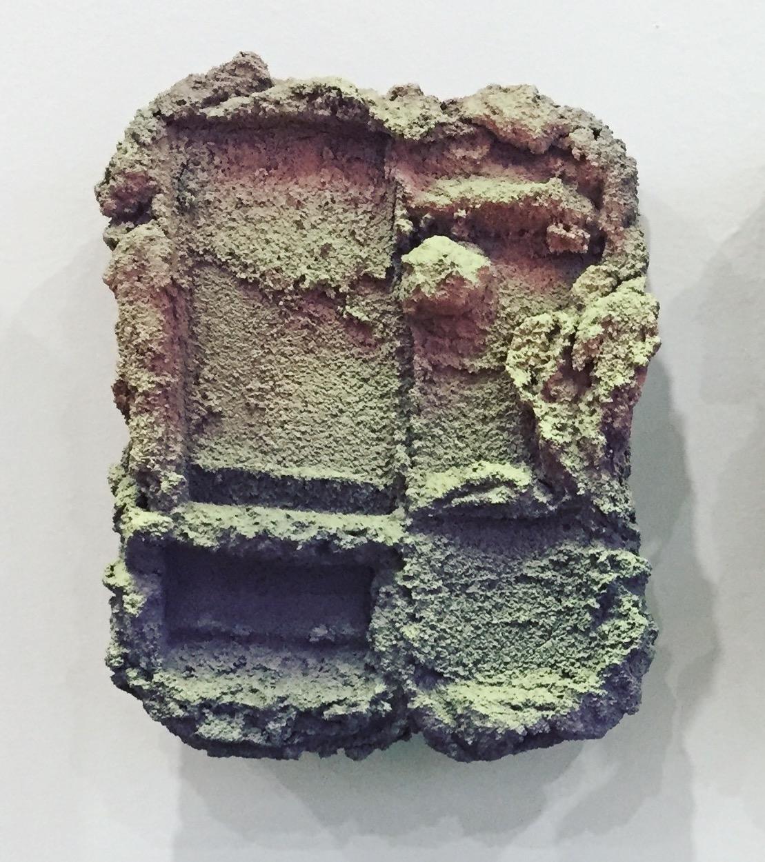 Brian Rochefort  Tablet 236 , 2017 ceramic, glaze 9 x 7 x 3 in.