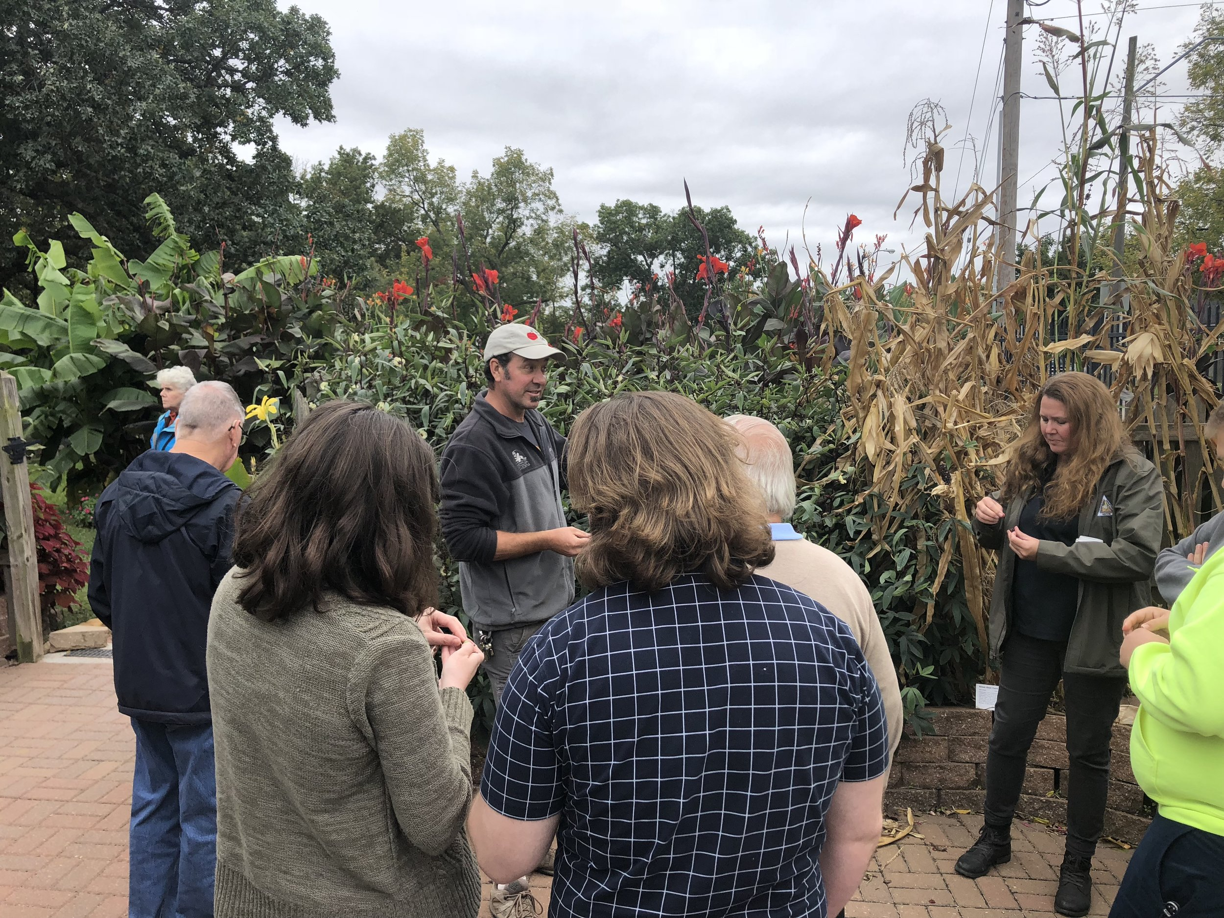 2018 Conference - Forestkeepers toured the Giving Grove, a nonprofit in Kansas City dedicated to improving local food security and strengthening communities by bringing together the resources to develop edible tree gardens.