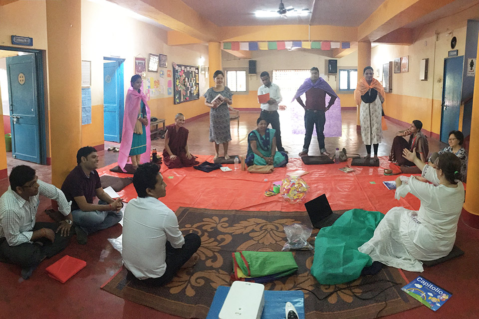 16 Guidelines at Maitreya School in Bodhgaya, India.