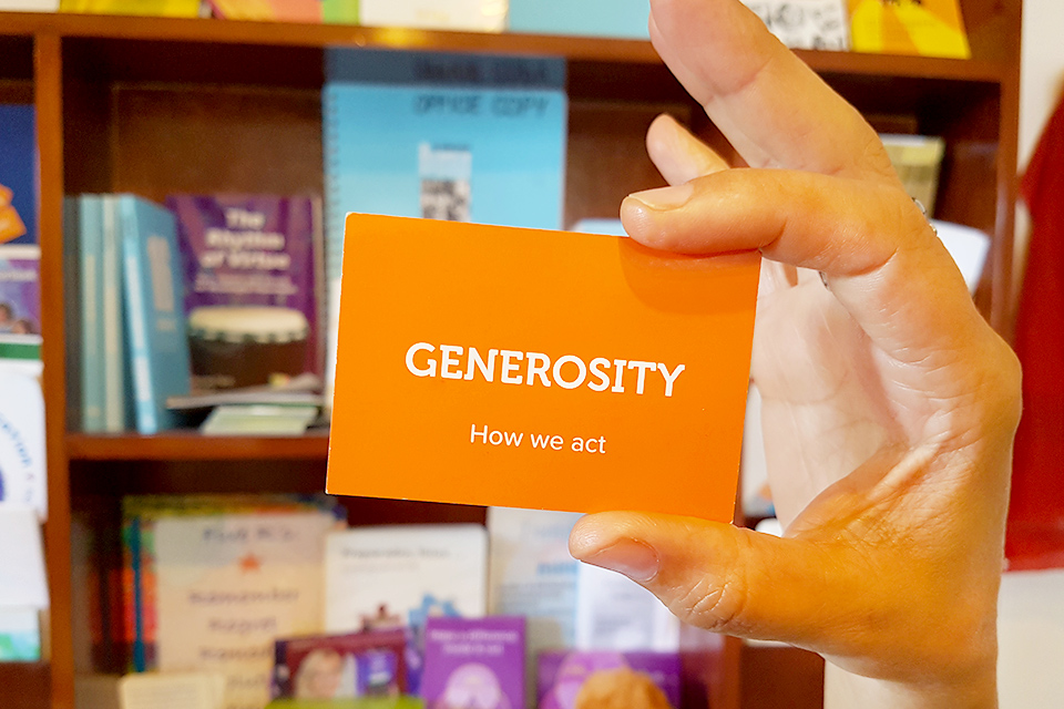 07. Generosity - How We Act | 16 Guidelines for Life