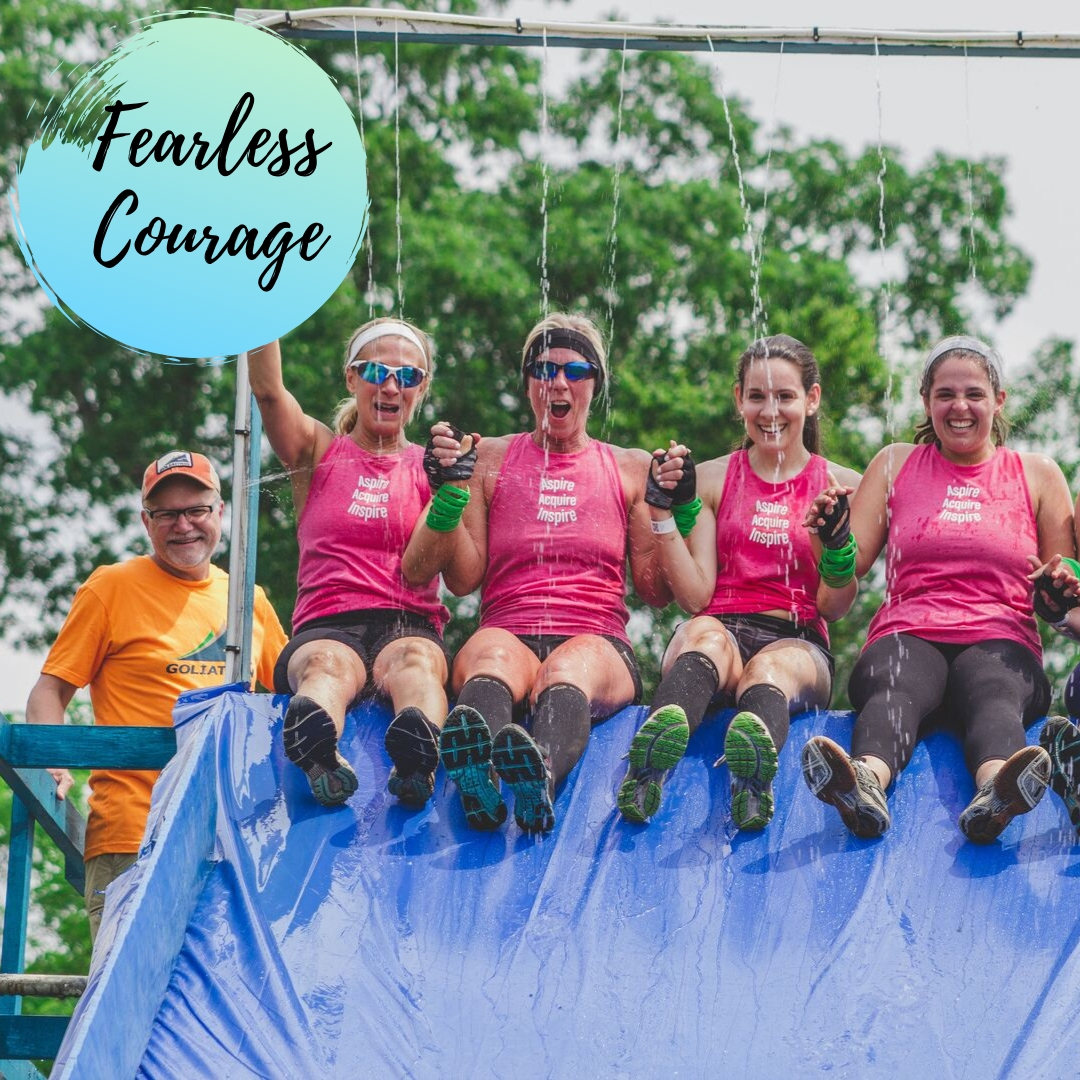 fearless courage with tonicity fit