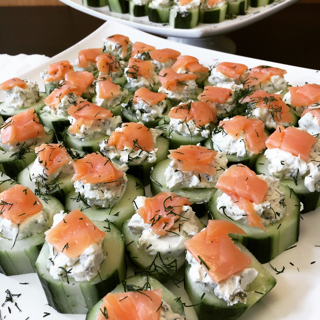 Smoked Salmon Cups
