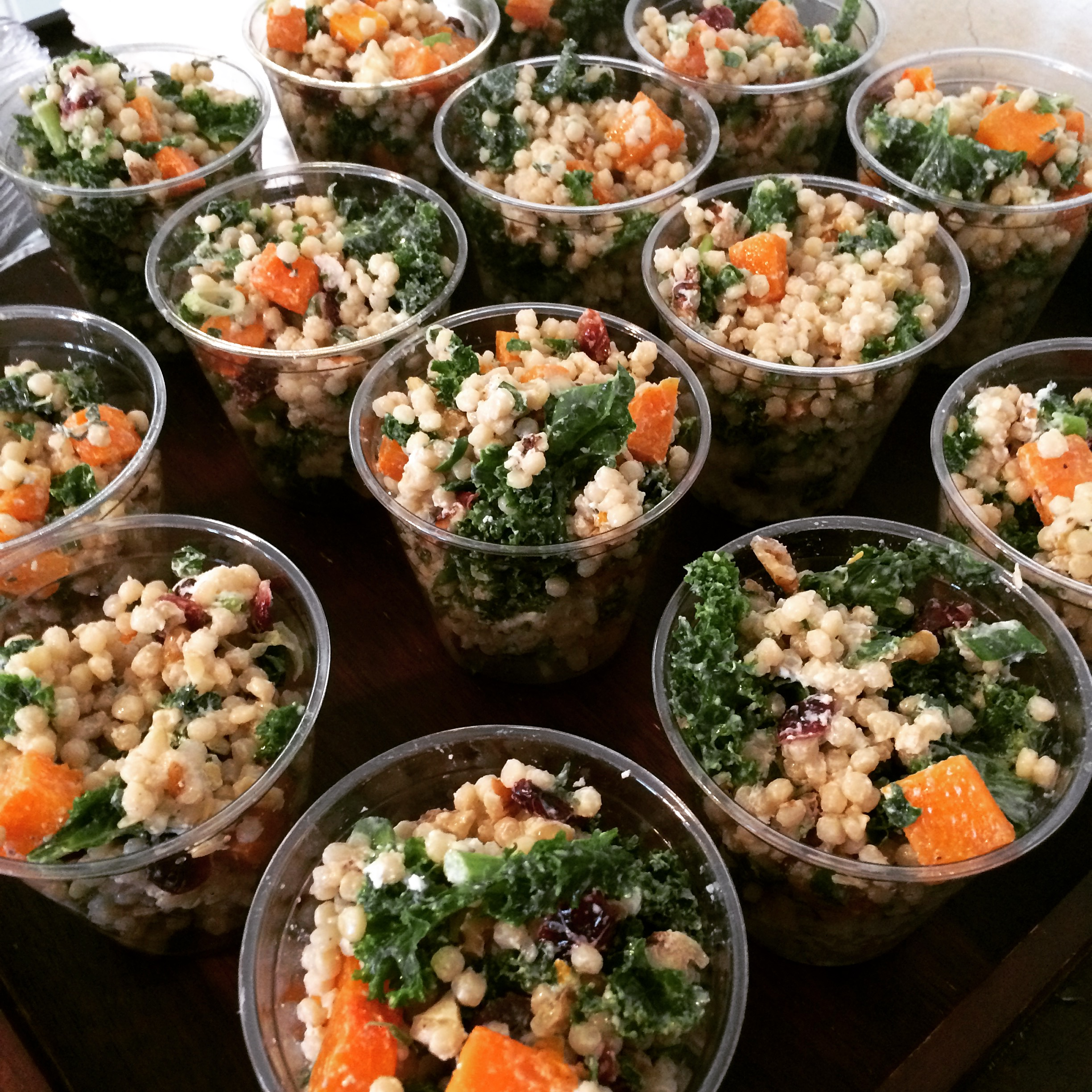Winter Couscous Cups