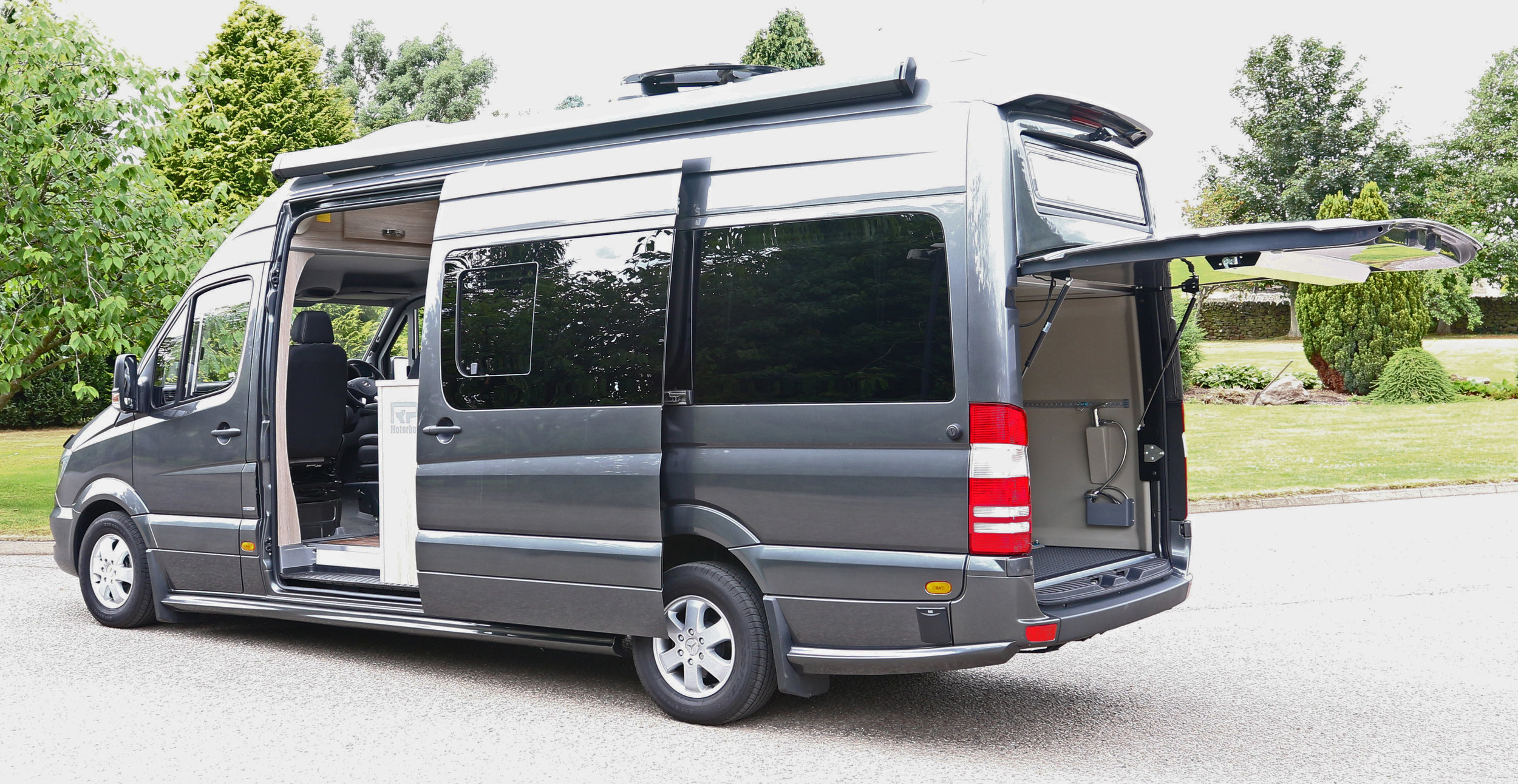 Optional up and over door with rear garage - sport option