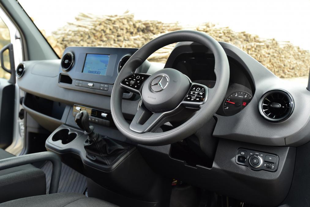 New Mercedes-Benz cab
