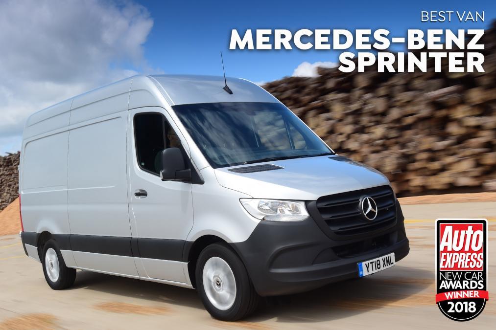 Mercedes-Benz Sprinter - van of the year!