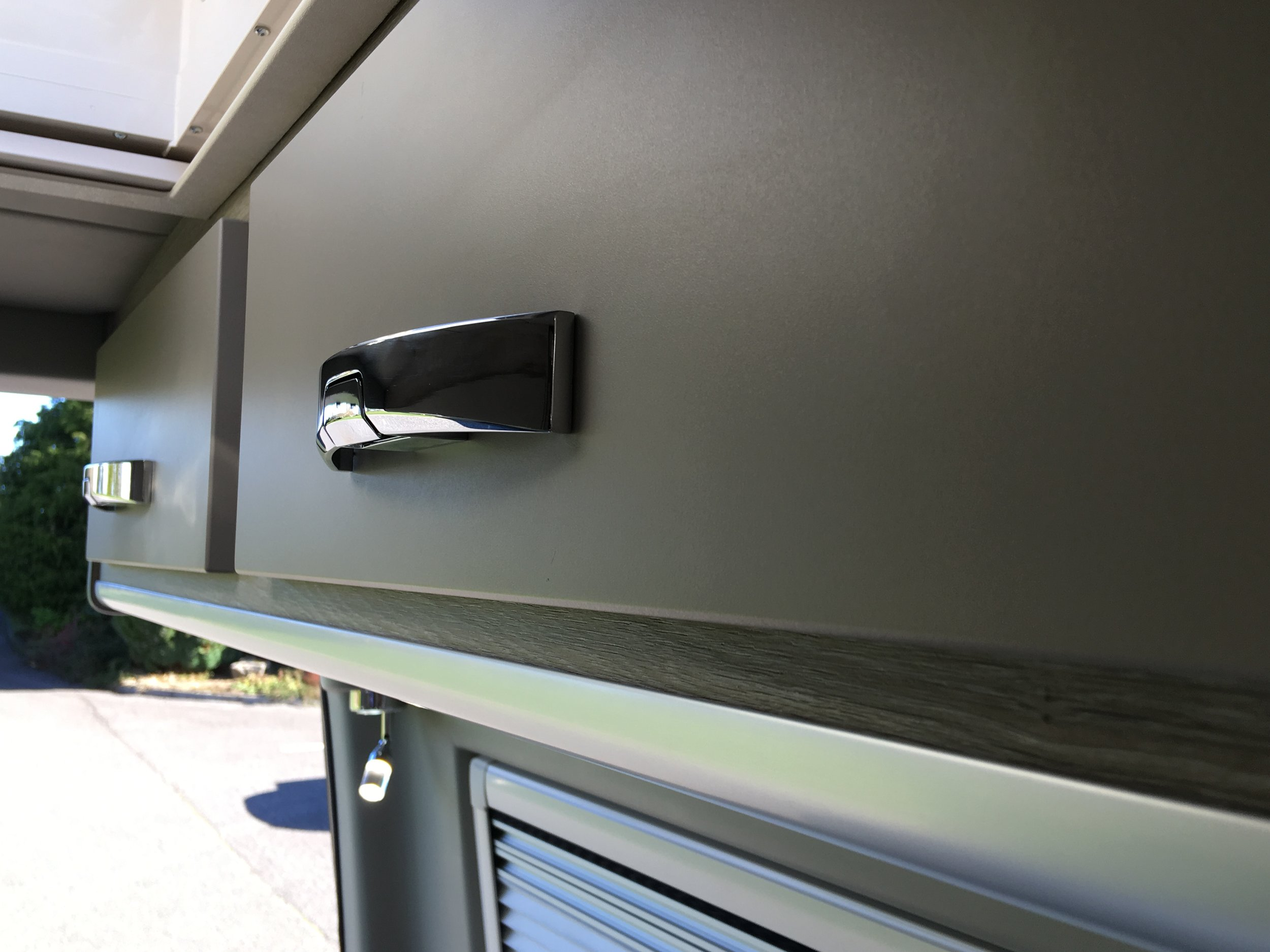 Overhead cupboard detail