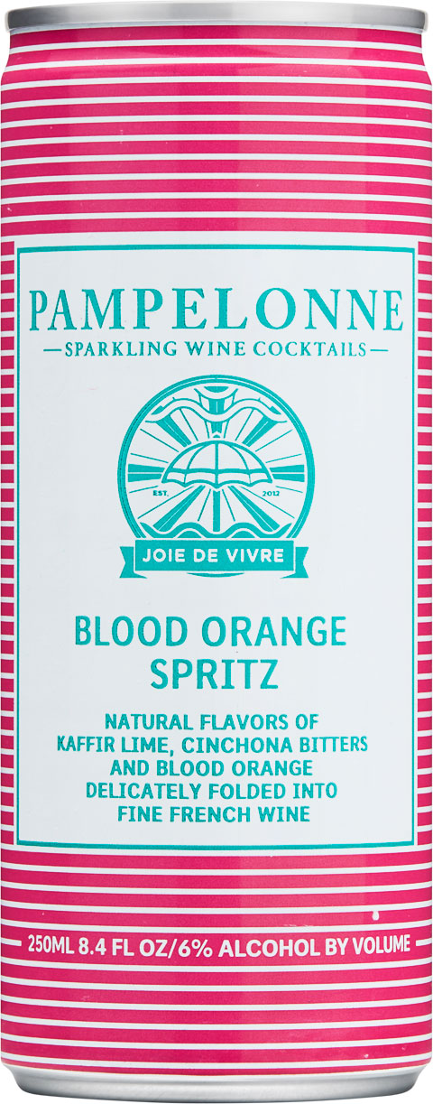 "<p id=""o75"">Blood Orange Spritz</p>Natural flavors of kaffir lime, cinchona bitters and blood orange delicately folded into fine french wine"