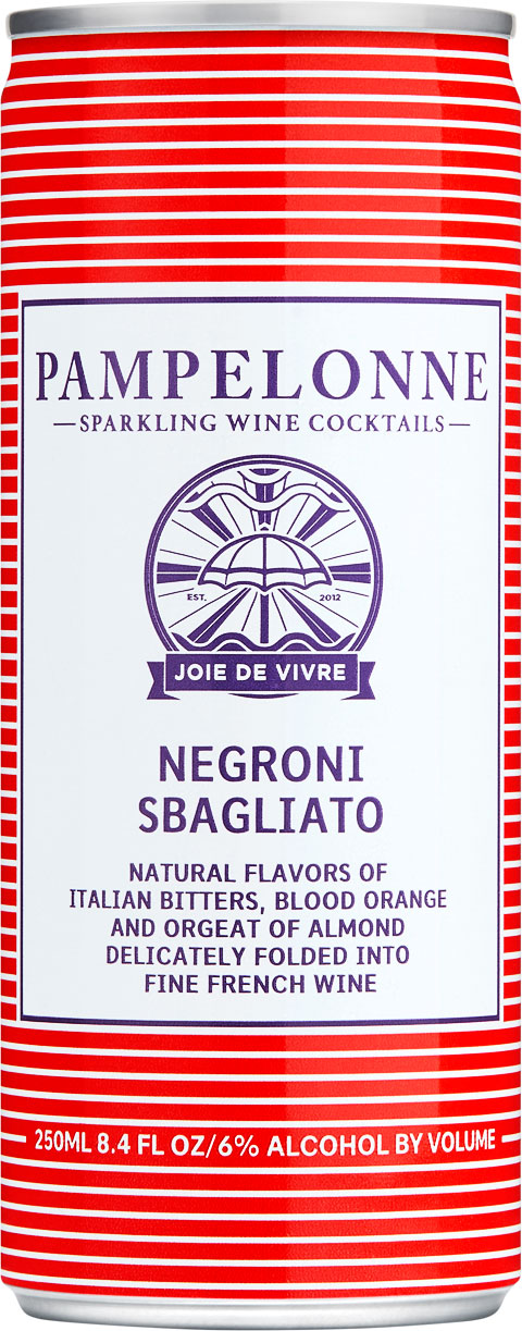 "<p id=""n75"">Negroni Sabagliato</p>Natural flavors of Italian bitters, blood orange and orgeat of almond delicately folded into fine french wine"