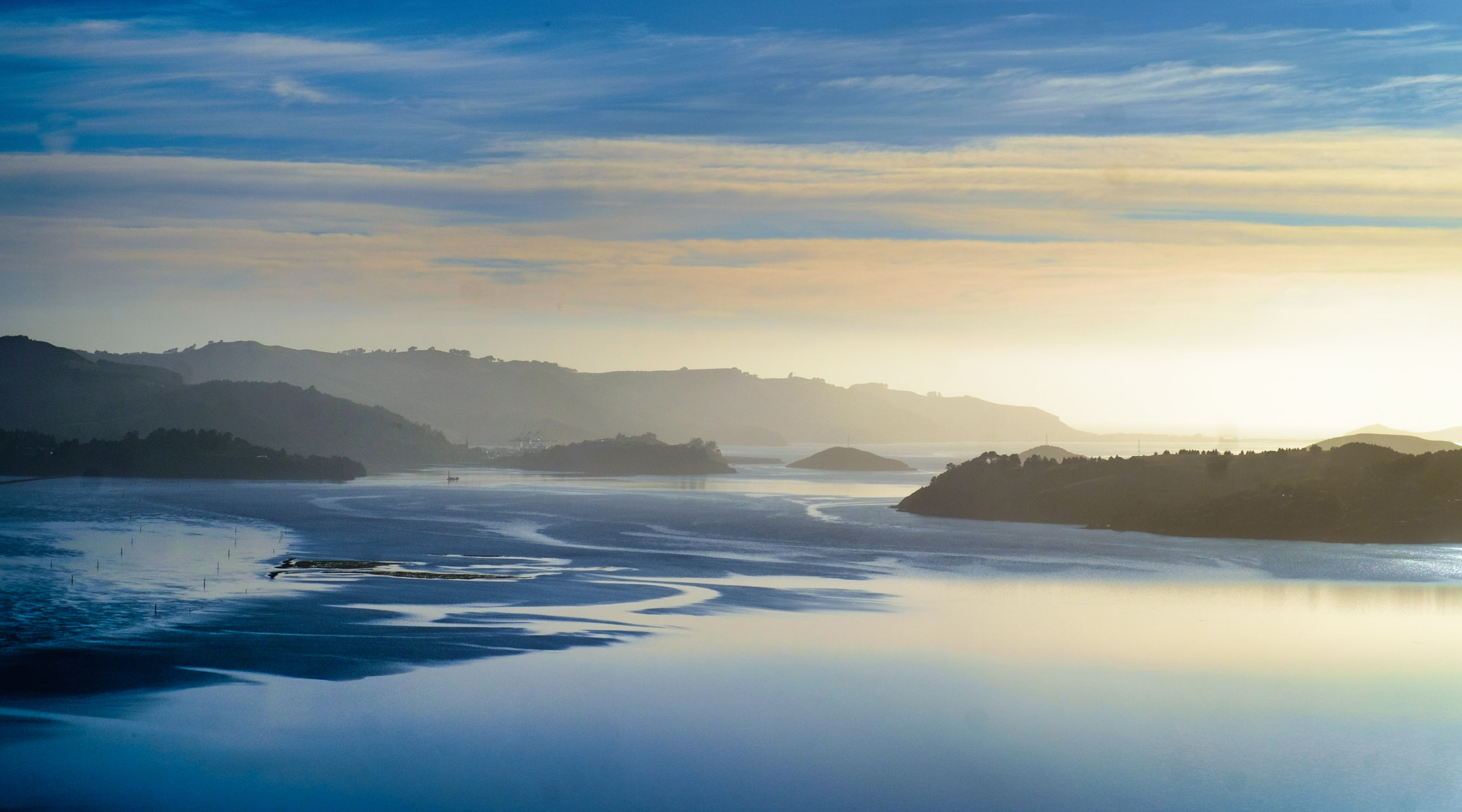 Otago Harbour inlet, Dunedin