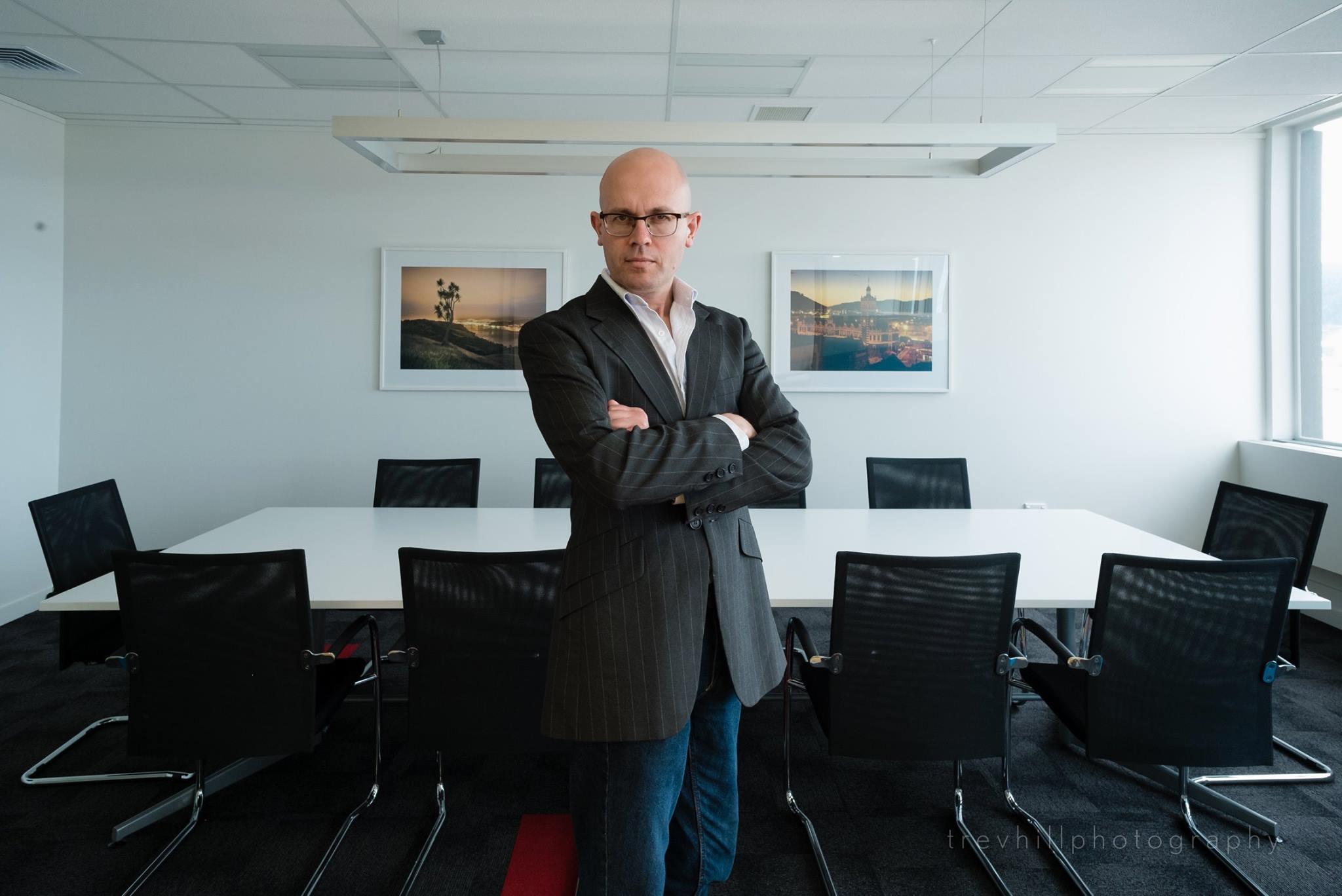 Colliers International boardroom Dunedin Landscapes