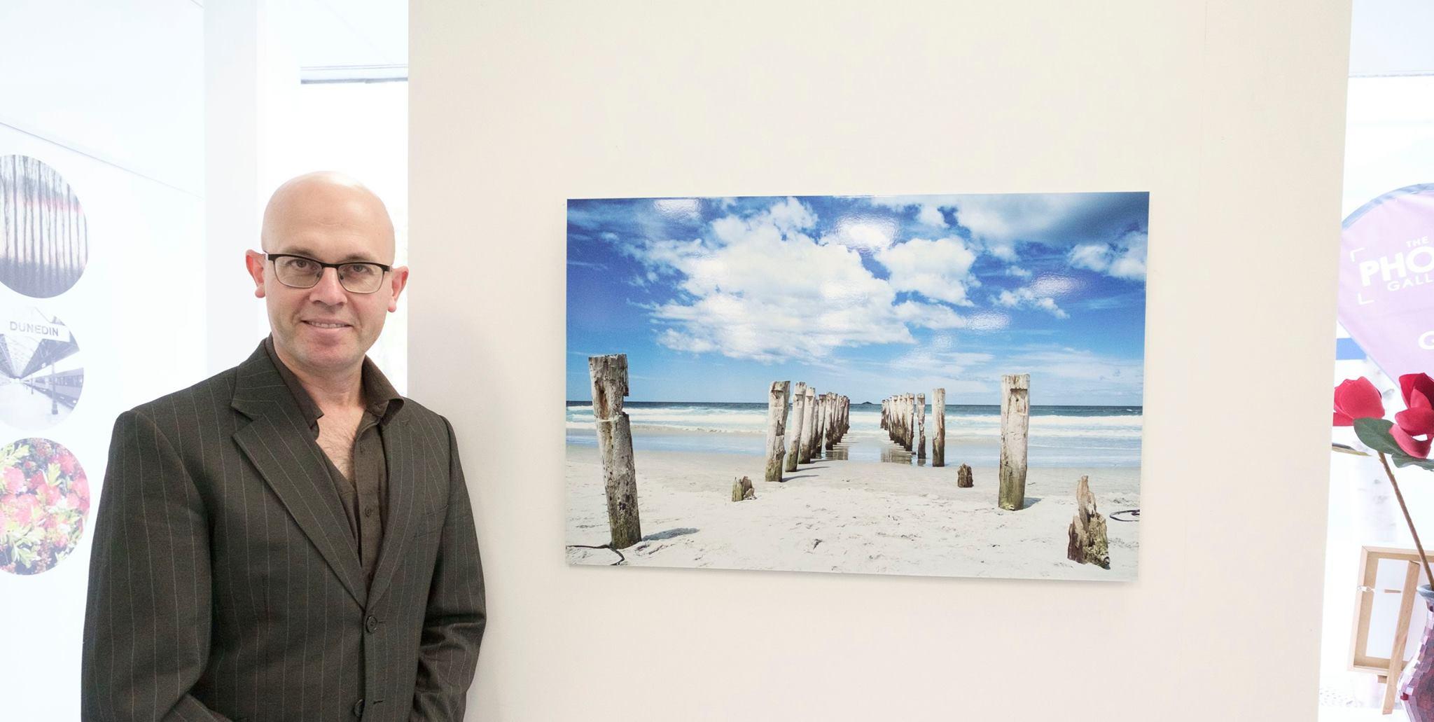 St Clair Beach Poles in Dunedin