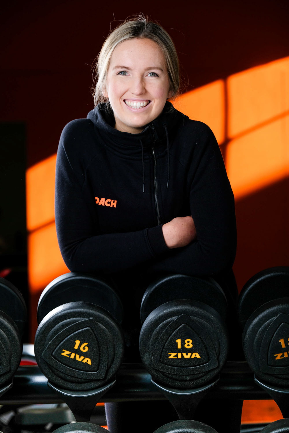 Commercial Photography Dunedin - Fitness Staff Portrait