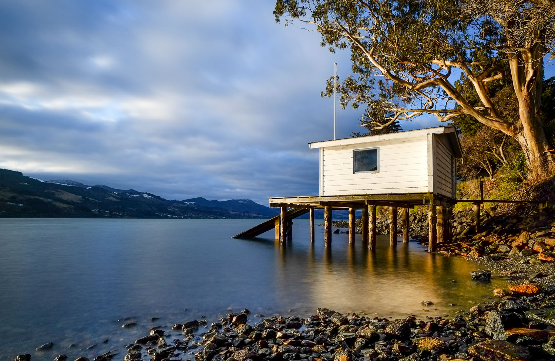 Boat House (no flag flying) - Otago Peninsula